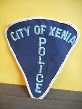 City of Xenia Police Department Shoulder Patch,Ohio USA