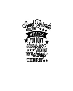 Friends - Vinyl decal sticker ONLY BOTTLE NOT INCLUDED - IDEAL FOR WINE BOTTLE