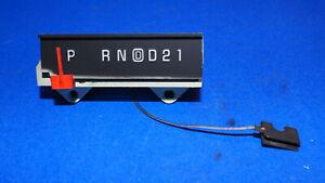 1986-1988 Chevy Blazer S10 GMC Jimmy S15 Sonoma Shift Gear Indicator PRND21 OD