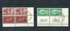 Israel Scott #33-34 Independence Tab Pair-- 1 MNH and 1 Used!!