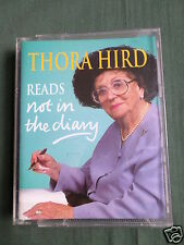 THORA HIRD - NOT IN THE DIARY - AUDIO CASSETTE BOOK