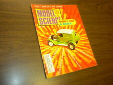 MODEL CAR & SCIENCE magazine APRIL 1968 slot cars Monogram kits matchbox