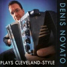 Denis Novato Plays Cleveland-Style BRAND NEW POLKA CD Button Box Accordion BEST!