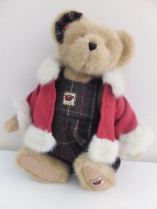 Boyds genuine bear  36cm Marsha Cocoberry 2004  from Best Dressed Series used