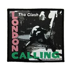"""The Clash: London Calling"" Album Art Punk Rock Band Music Sew On Applique Patch"