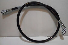 """46"""" 3,000 PSI Hydraulic Hose Assembly W 2 Female ORFS Flat Face #4 Fittings 1/4"""""""