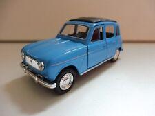 Renault 4L R4 Bleu 1/38 Welly NEUF Boite d'origine
