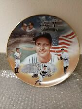 """HALL OF FAME"" LOU GEHRIG SPORTS IMPRESSIONS 1987 LIMETED EDITION COLOR PLATE"