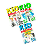Greg James 3 Books Collection Set Kid Normal and the Shadow Machine Rogue Heroes