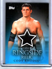 WWE Cody Rhodes 2009 Topps Ringside Relic Event Worn Shirt Card DWC