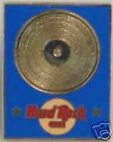 Hard Rock Cafe STAFF Director Operations Gold Record PIN #4 Blue Rectangle #3538