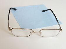 Golden Fame Unisex Real Glass Lens Reading Glasses 1 Pair.  +2.00.