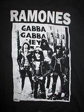 "RAMONES ""GABBA GABBA HEY ... Mondo Bizarro"" (LG) T-Shirt DEE Johnny Joey Marky"