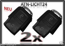 2x VW Golf SHARAN T5 2T. Funk Tasten Schlüssel Klappschlüssel Fernbedienung NEU