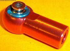 L800 M8 8mm Connecteur Rc Alliage Extrémité de Tige de Chenille Gauche Fil Rouge