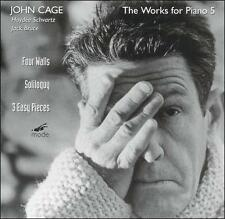 Cage: Four Walls, Soliloquy, 3 Easy Pieces, New Music