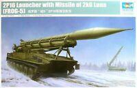 Trumpeter 1:35 2P16 Launcher With 2k6 Luna (Frog-5) Missile Vehicle Model Kit