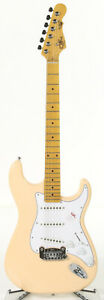 G&L Tribute S-500 6-String Electric Guitar - Vintage White w/ Maple fingerboard