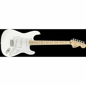 SQUIER FSR AFFINITY SERIES™ STRATOCASTER, Maple Fingerboard, Olympic Bianco