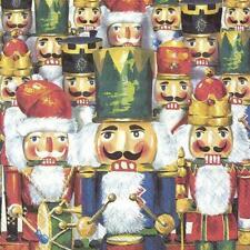 Paper Christmas Napkins Nussknacker Disposable Festive Lunch Party Serviettes