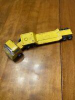 "Vintage Yellow TONKA Flat Bed Semi Hauler Truck 11"" Barn Find Man Cave Kids"