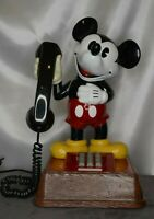 Vintage American Telecommunications Corp Mickey Mouse Phone 1976 Touch Tone