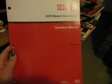 Case Ih 8360 8370 Mower-Conditioner Owners Manual