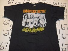 XL- David Lee Roth Vintage Rare New 85 Eat EM And Smile Screen Stars T- Shirt