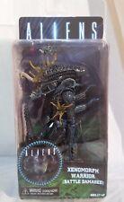 "Aliens Xenomorph Warrior Blue (Battle Damaged) NECA Series 12 7"" Action Figure"