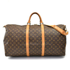 Auth LOUIS VUITTON Monogram Keepall Bandouliere 60 M41412 Travelling Bag AB26162