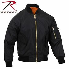 Mens Lightweight MA-1 Flight Jacket - Rothco Military Air Force Style Coat