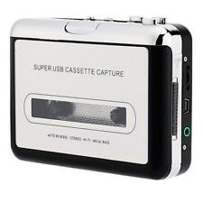 Portable Cassette Player,Retro Cassette Tape Converter to MP3 via USB