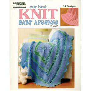Leisure Arts-Our Best Knit Baby Afghans Book 2 -LA-5124