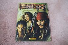 Pirates of the Caribbean Dead Mans Chest - Panini - Sticker Album