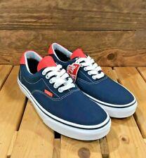 VANS Era 59 - Neon Leather Dress Blue White - Men's / Women's Skate Shoes