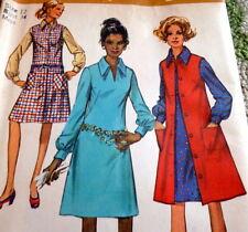 *Lovely Vtg 1970s Dress & Jumper Sewing Pattern 12/34