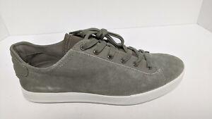 ECCO Collin 2.0 Sneakers, Grey Suede, Men's 44 EU (US 10-10.5)
