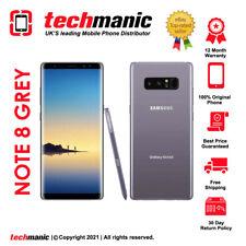 Samsung Galaxy Note 8 (Dual Sim) SM-N950F - 64GB - Grey (Unlocked) Smartphone