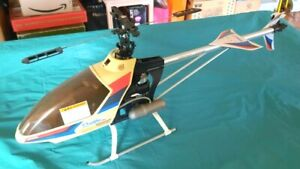 Hirobo Shuttle Plus Helicopter kit - Unfinished project