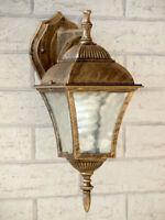 Hängeleuchte in antikgold inkl heller 12W LED Alu Lampe Pendelleuchte Decke NEU