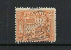 hawaii 1894 used one cent stamp ref r13075