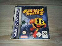 Pack Man World 2 Gameboy Advance Game Game Boy Nintendo Complete w/ Manual GBA