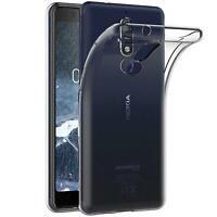 Handy Case für Nokia 5.1 Hülle Transparent Schutz Tasche Handyhülle Cover