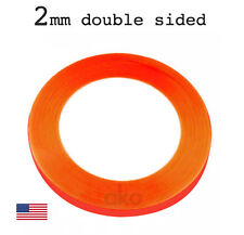 2mm Super Sticky Double Sided Red Adhesive Tape Bond Decal for LCD Screen Repair