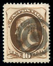 momen: US Stamps #161 Used SUPERB JUMBO PF Cert