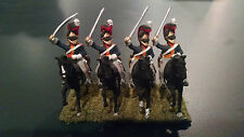 25mm British Napoleonic Calvary - 12 Mounted Figures