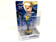 Zero Suit Samus Amiibo Nintendo 3DS Wii U Super Smash Bros. Series SEALED