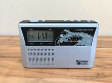 Discovery Channel Weather Radio System BD-4772 Tested Works Great