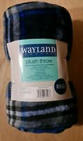 Wayland Square Throw Plush Comfort 50 in X 60 in New