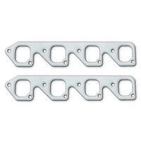 """Remflex Exhaust Header Gasket 3007; Square 2.156"""" 1.938"""" for Ford 351C 4bbl"""